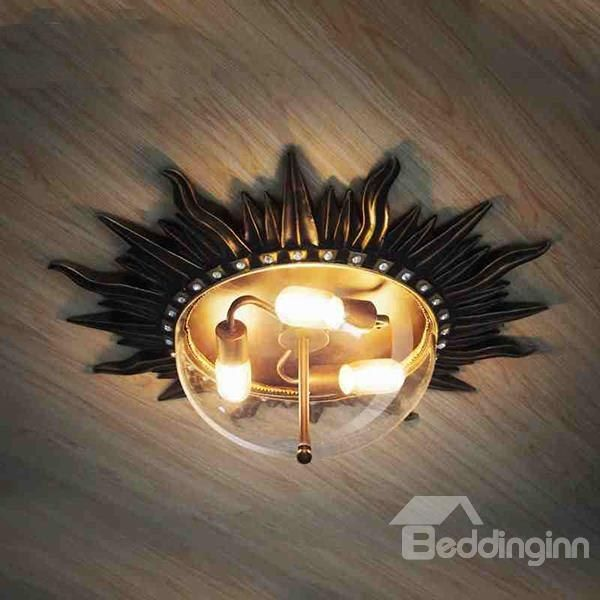 Classic European Style Sun Ceiling Lights For Home Decoration Ceiling Lights Modern Light Fixtures Ceiling