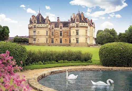 Le Lude Castle, France Le Lude, Sarthe Pinterest