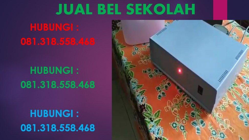 Jual Bel Sekolah Otomatis Surabaya Murah 081318558468 Di 2020 Sekolah Arduino Surabaya
