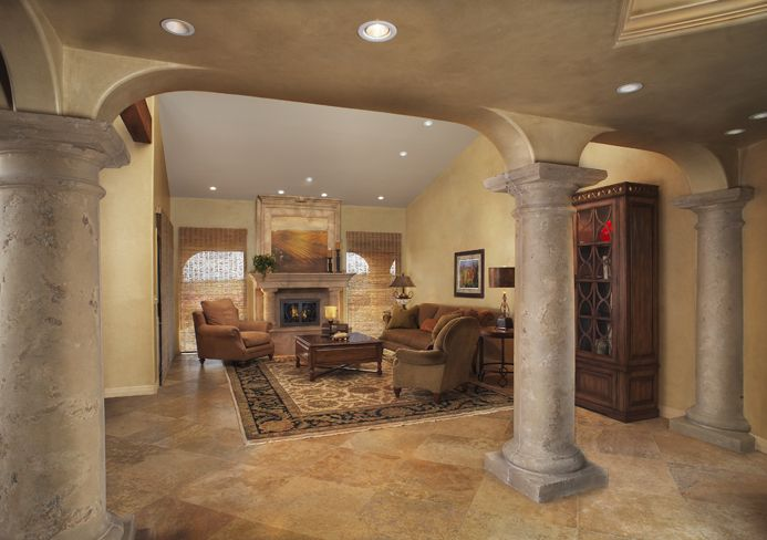 tucson living room design by eren design remodel we created an elegant yet relaxed - The Living Room Tucson