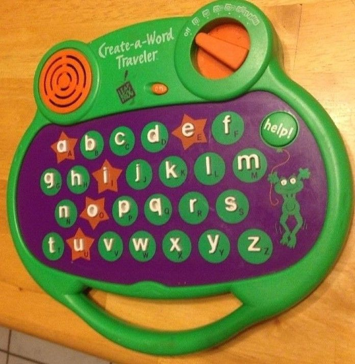 Leapfrog Think Go Phonics Create A Word Traveler Spelling Alphabet 3 And Up