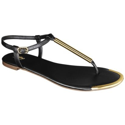 6ea88fb51b94 OMGosh-- how cute are these!! Womens Mossimo Falk Thong Sandal ...