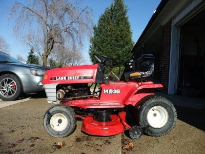DIY - How to repair a Lawn Chief riding mower bought on