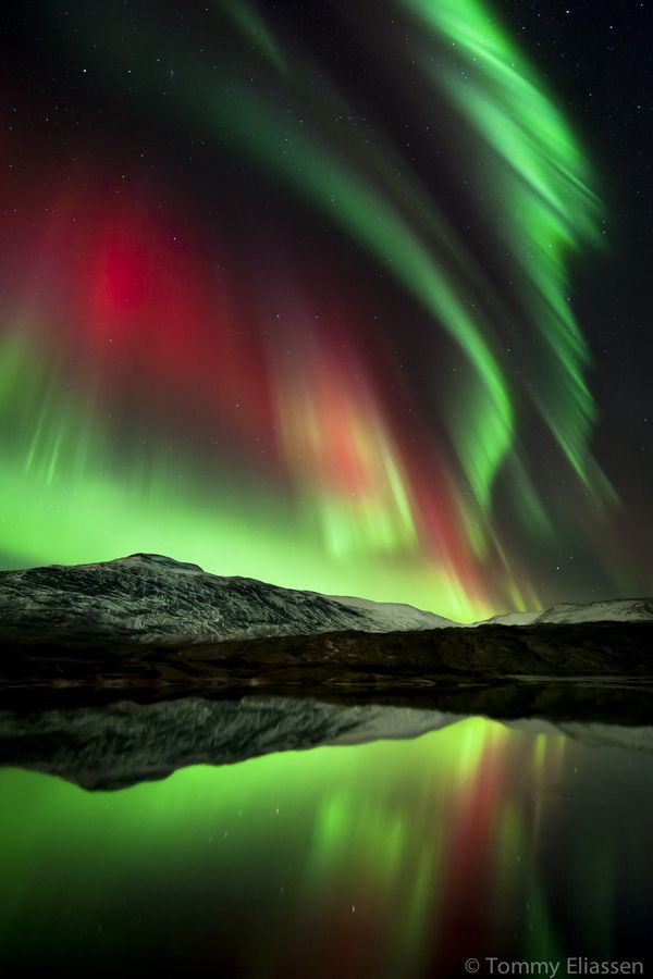 Spectacular displays of the northern lights or aurora borealis in - new blueprint alberta northern lights