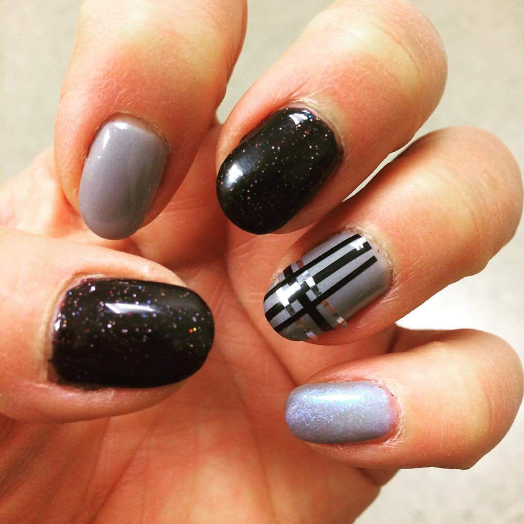 59+ Voguish Black Nail Art Ideas to Have Your Nails Make A Statement ...