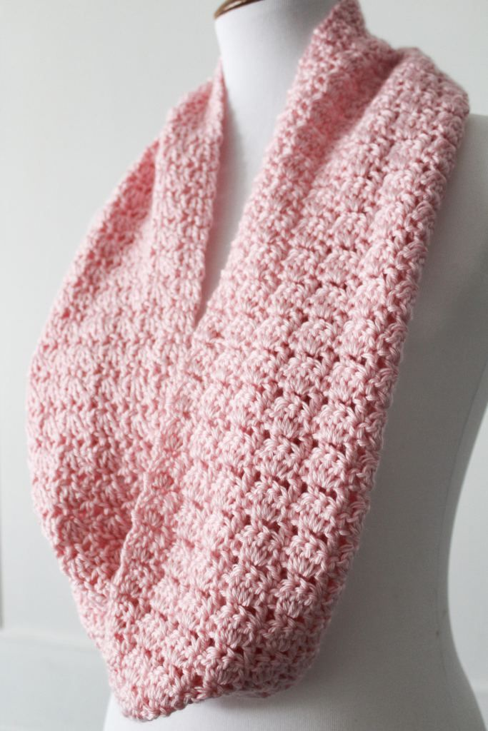 Simple Scarf Pattern Using One Skein of CARON Simply Soft | Scarf ...