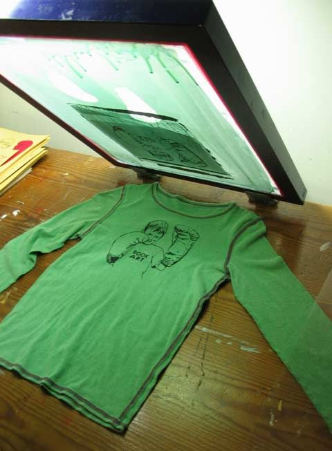 DIY - How to Silkscreen Posters and Shirts » No Media ...