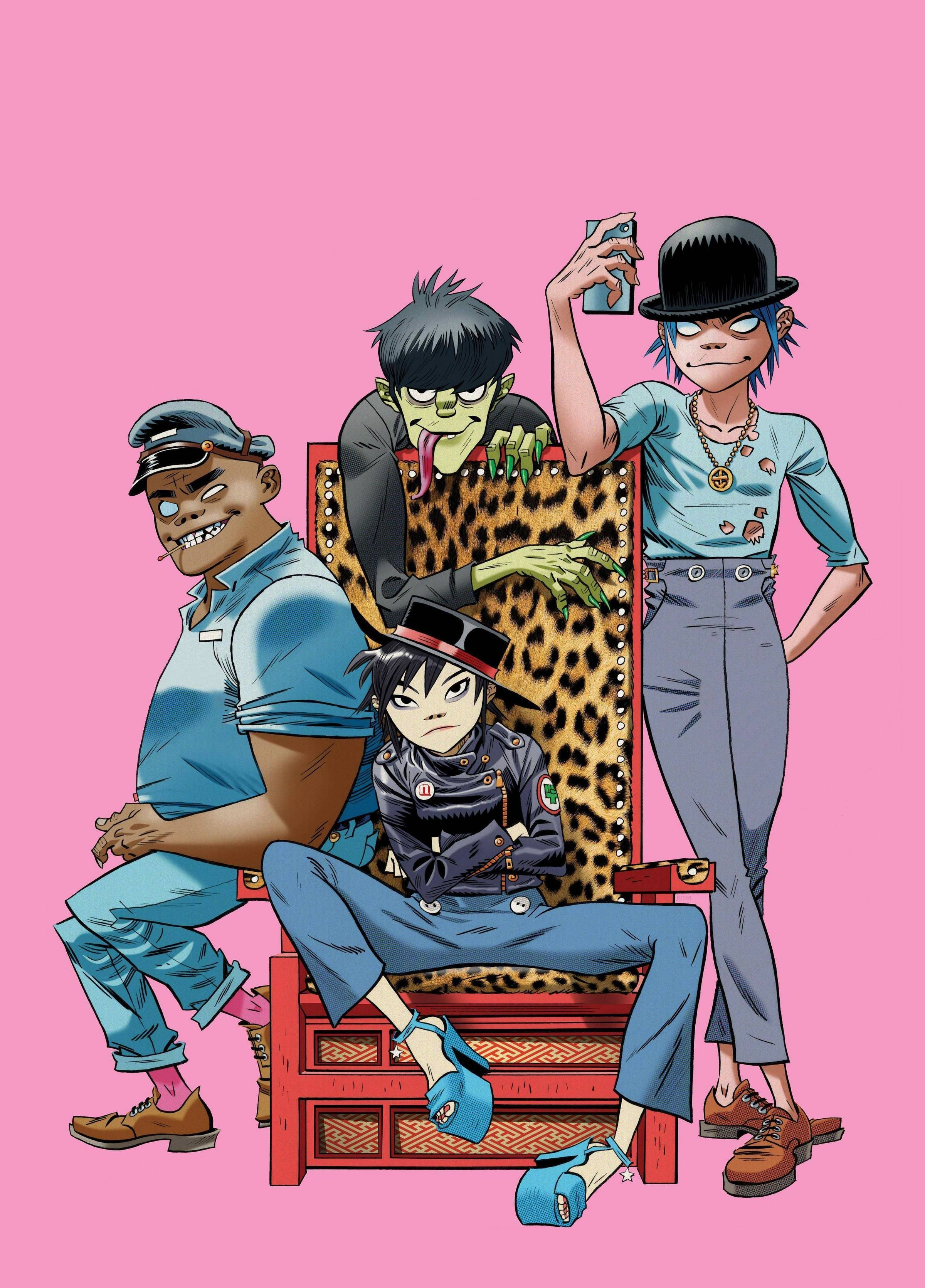 Gorillaz Phase 4 - Year of Clean Water