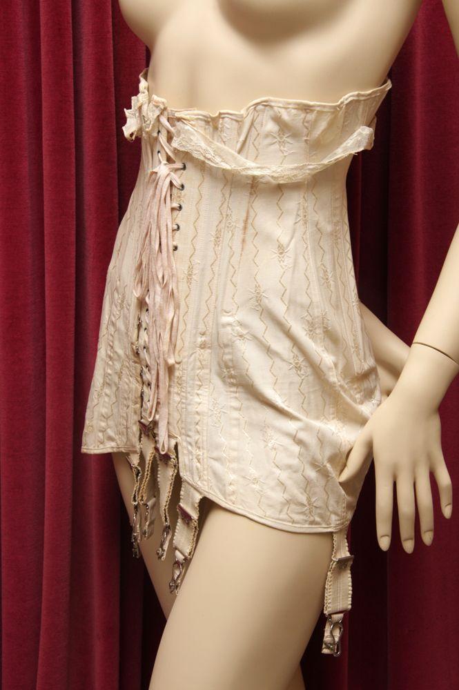 e7446d69e3 Gossard front lacing 1920s corset.