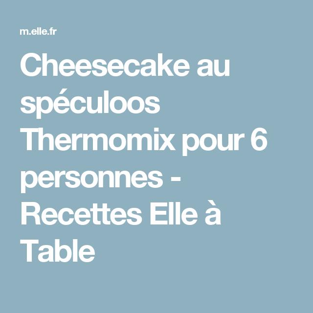 Cheesecake au spéculoos Thermomix | Recette | Pommes de ...