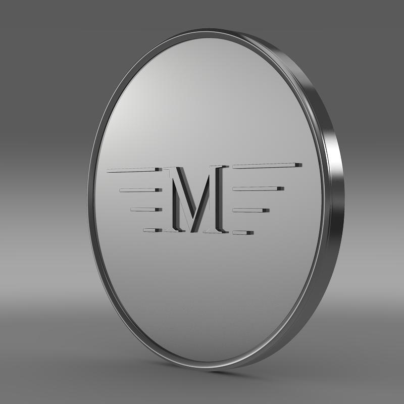 Mansory Logo 3D Model- Mansory Is A Luxury Car