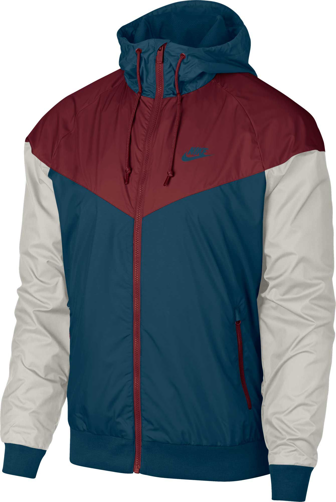 Asesorar Fonética Barra oblicua  Nike Men's Windrunner Full Zip Jacket | Football fashion ...