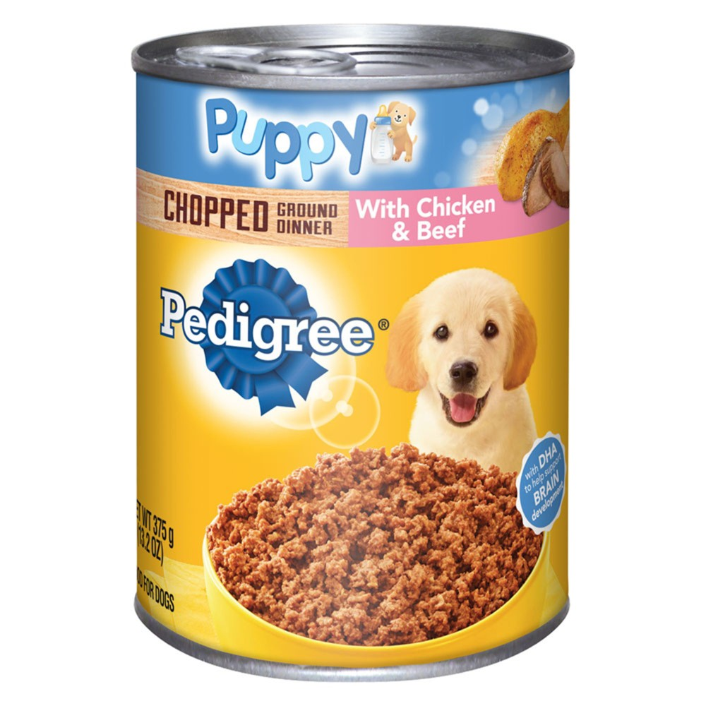 Pedigree Chopped Ground Dinner With Chicken Beef Wet Dog