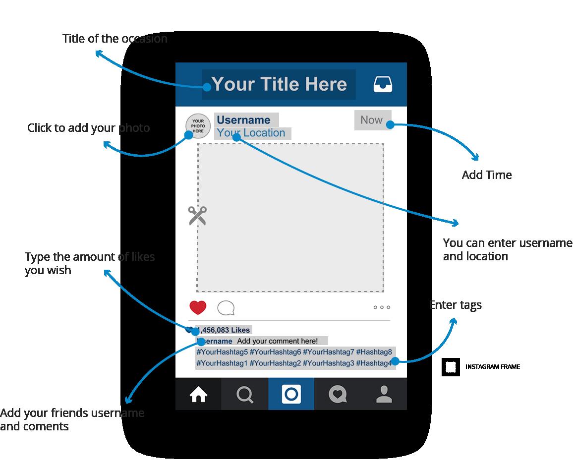 Instagram Frame Instagram Photo Booth Instagram Photo Booth