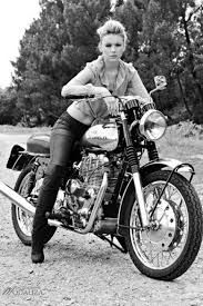 girls Vintage motorcycle