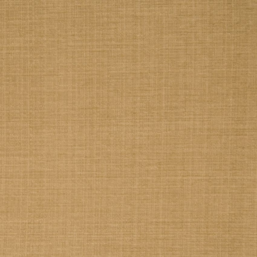 Chamois Neutral And Yellow Solid Chenille Upholstery Fabric