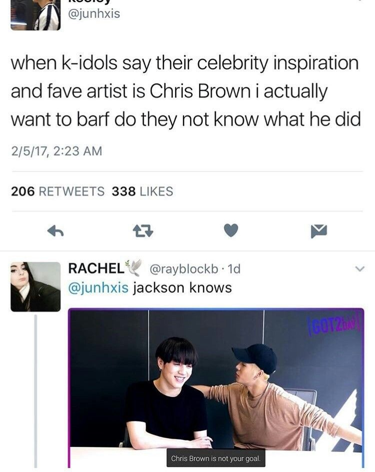 Preach I M On Both Sides Chris Brown Was My Favorite Singer Growing Up And His Old Songs Are Still Fun To Listen To Kpop Memes Funny Kpop Memes Got7 Funny