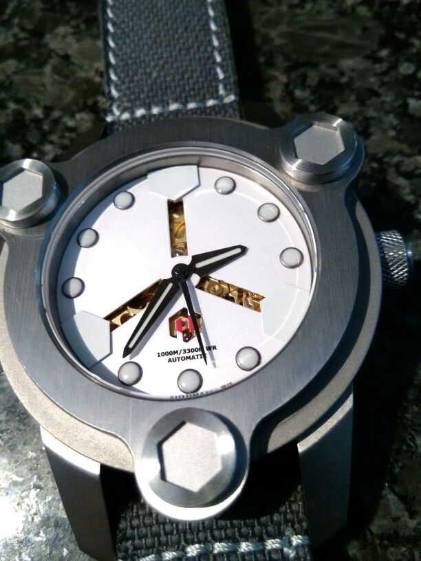NBS watch by deltaT, a real collection piece, from UIG Watch of course!