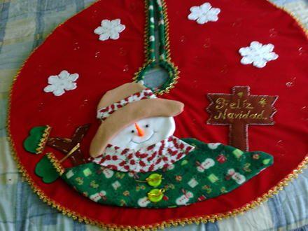 Pie de arbol medell n objetos de decoraci n produtos - Arboles de navidad elegantes ...