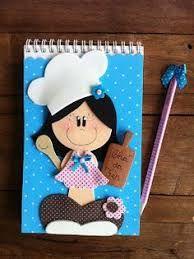 Resultado De Imagen De Molde De Menina Cozinheira Em Eva