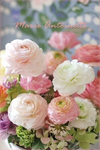 Lovely flower arranging