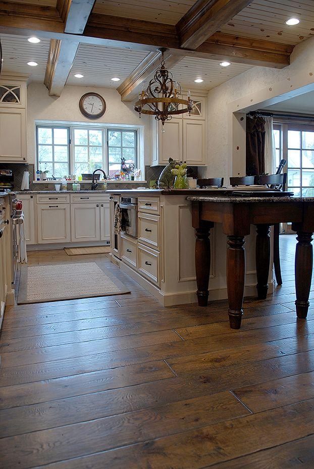 """71/4"""" wide plank solid Vintage grade French Oak hardwood"""