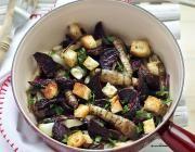 warme salade met groenten