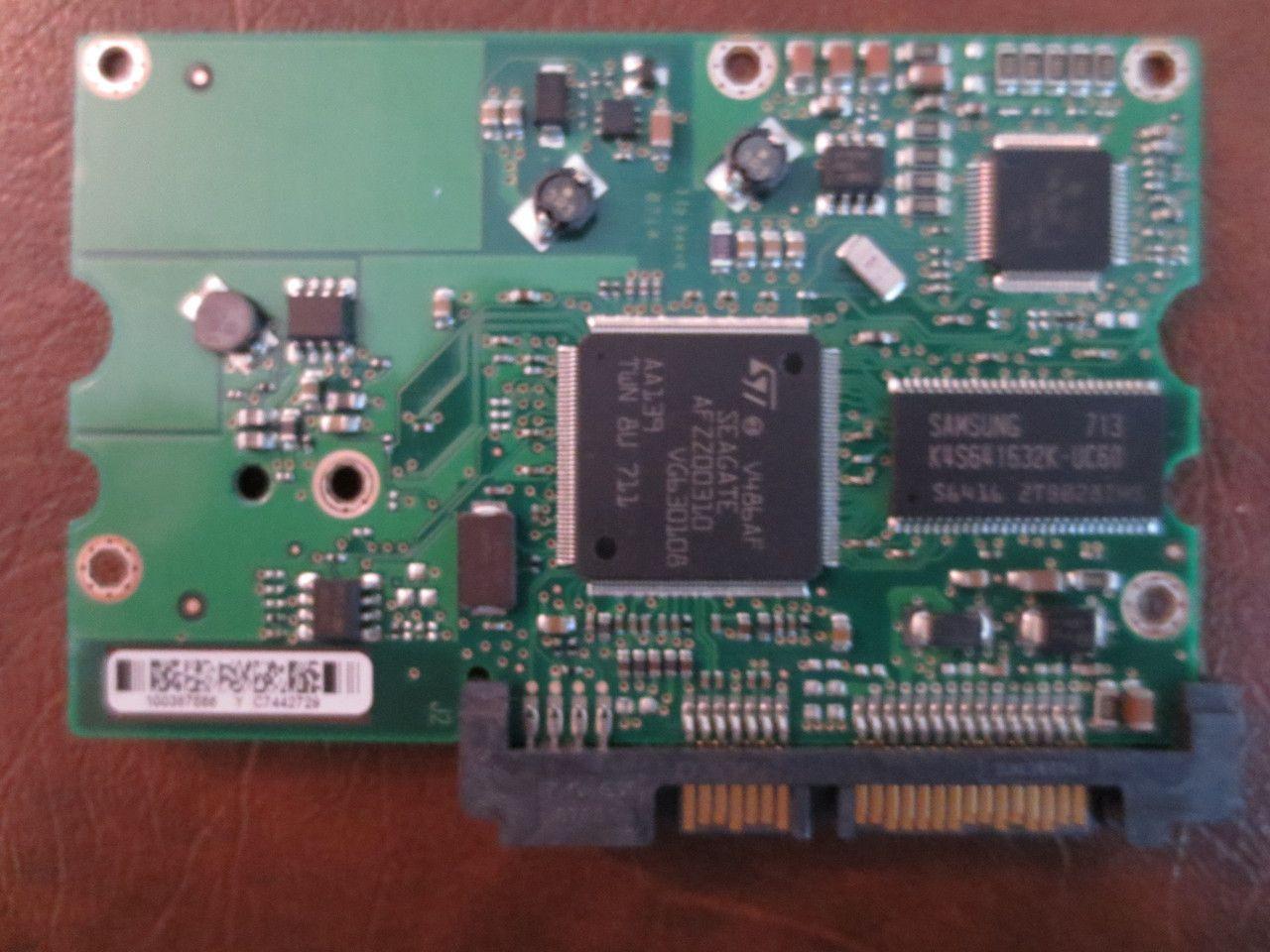 Seagate St3250824as 9bd133 042 Fw3bqk Tk 10038 Hard Circuit Board Repair Printed Bqk 100387566 Y 250gb Sata Pcb Effective Electronics Data Recovery Drive Computer Drives Parts