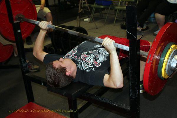 Iron Boy Powerlifting Powerlifting Boys Bench Press