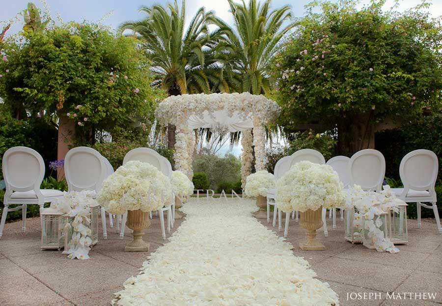 Rancho Valencia Rose Garden Wedding Ceremony Karen Tran Blog