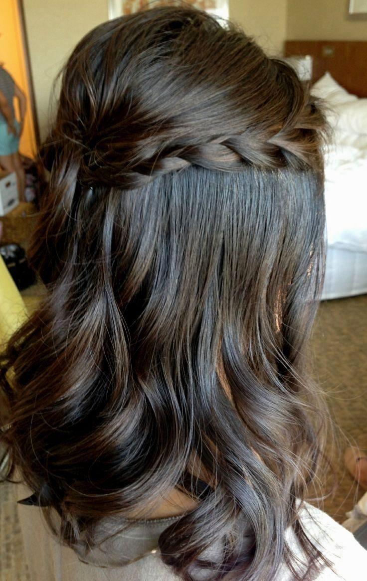 Wedding hairstyles medium hair down hair for kat pinterest