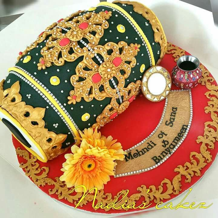 Mehndi Dholki Cake : Dholak wedding cakes pinterest cake indian