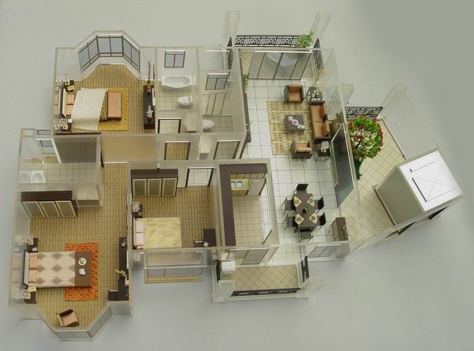 For model building enthusiasts display or even build a for 3d house model maker