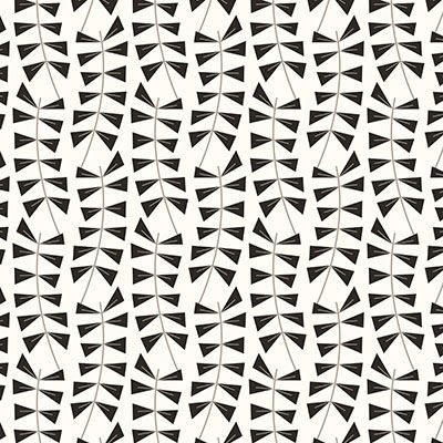 Inspiration for wallpaper from fabric.