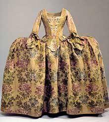 Photo of Antique fashion 1700-1749