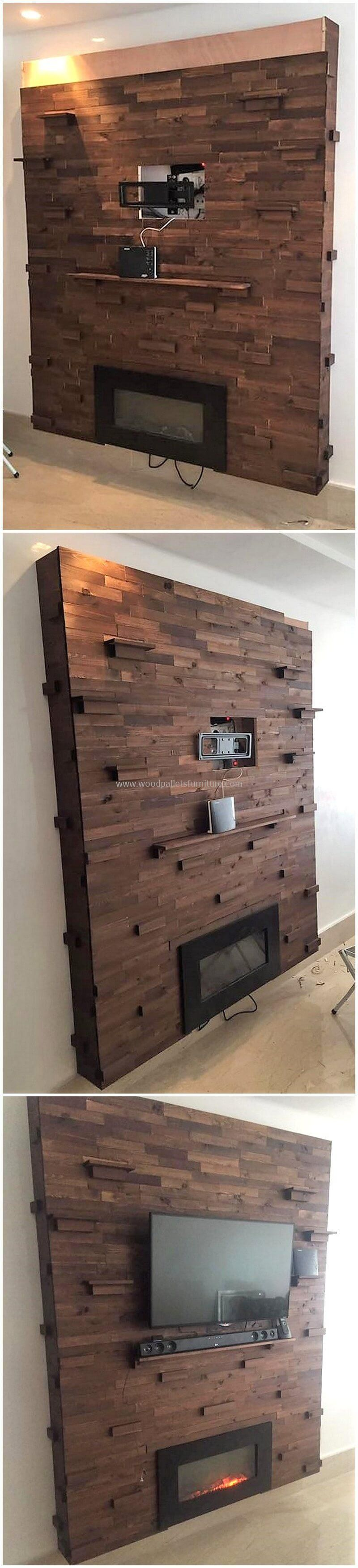 amazing ideas for wooden pallets repurposing wooden on pallet wall id=13745
