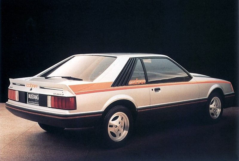 1980 Mustang Cobra Optioned Hatchback