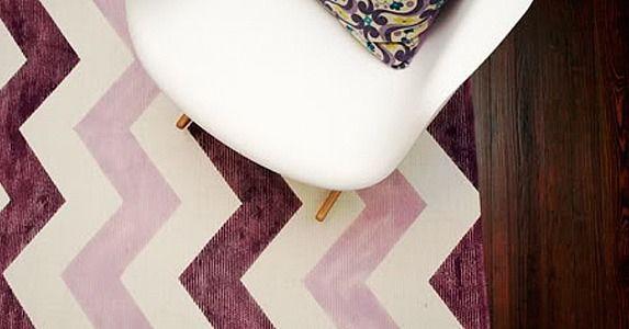33 Designer-Worthy DIYs For a Polished Home | Chevron rugs ...