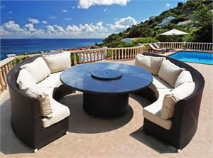 Round Wicker Patio Furniture Enjoy Outdoor Living And Create A Calming Environment With Tips That Are Really Ima