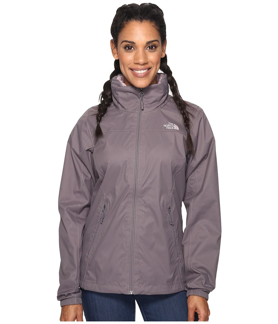 THE NORTH FACE THE NORTH FACE - RESOLVE PLUS JACKET (RABBIT GREY (PRIOR  SEASON)) WOMEN S COAT.  thenorthface  cloth   a73f6620c9f8