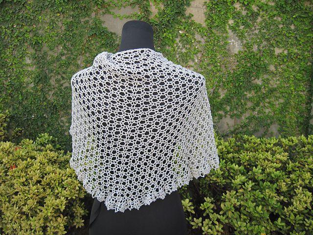 Miya Shawl pattern by Fatima | Knitting Prayer Shawls | Pinterest