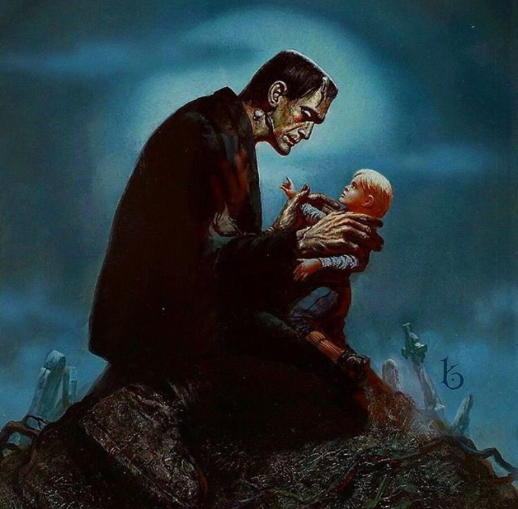 Love this Frankenstein's monster art piece | The Monster ...