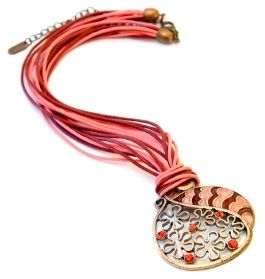 Leather cord necklace design ideas necklace designs leather cord i wear a leather cord necklace almost every day jewelry ideas audiocablefo