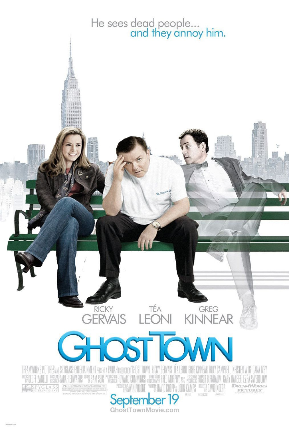 Ghost Town David Koepp 2008 Filmes