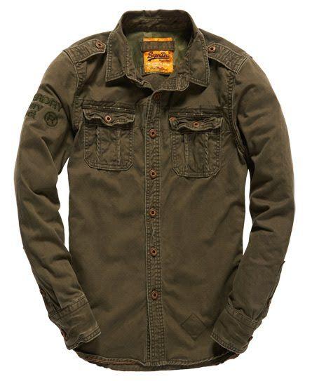 ca052e7406a Superdry Military Artillery Shirt