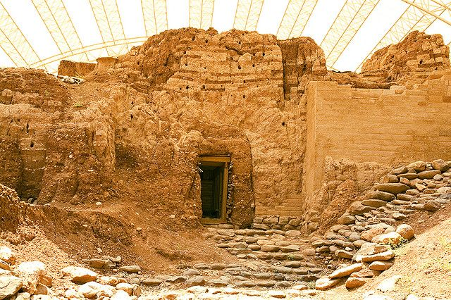 ancient gate at dan  israel  likely that abraham walked