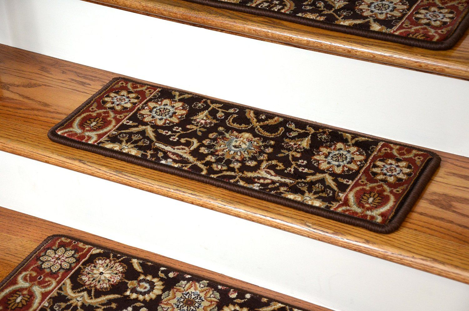 Best Amazon Com Dean Premium Carpet Stair Treads Persian 400 x 300