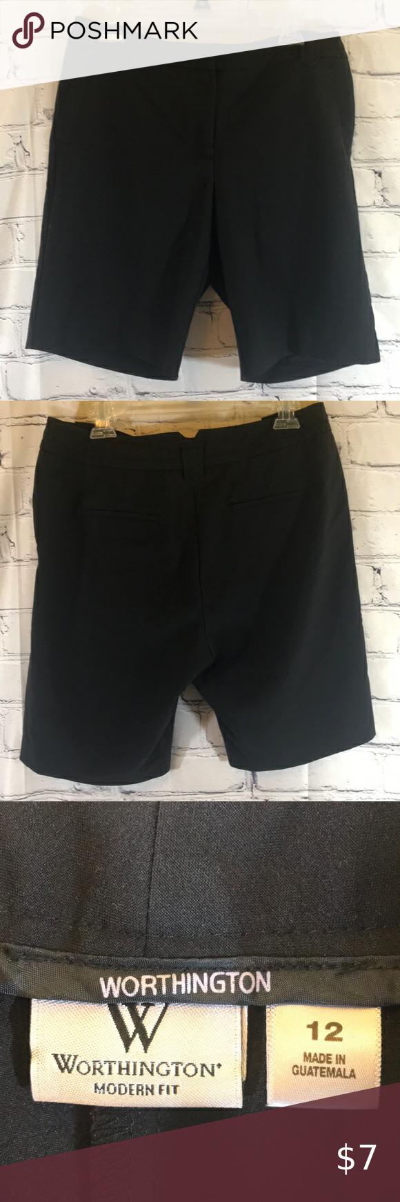 Worthington Black Dress Shorts Black Short Dress Short Dresses Worthington [ 1740 x 580 Pixel ]