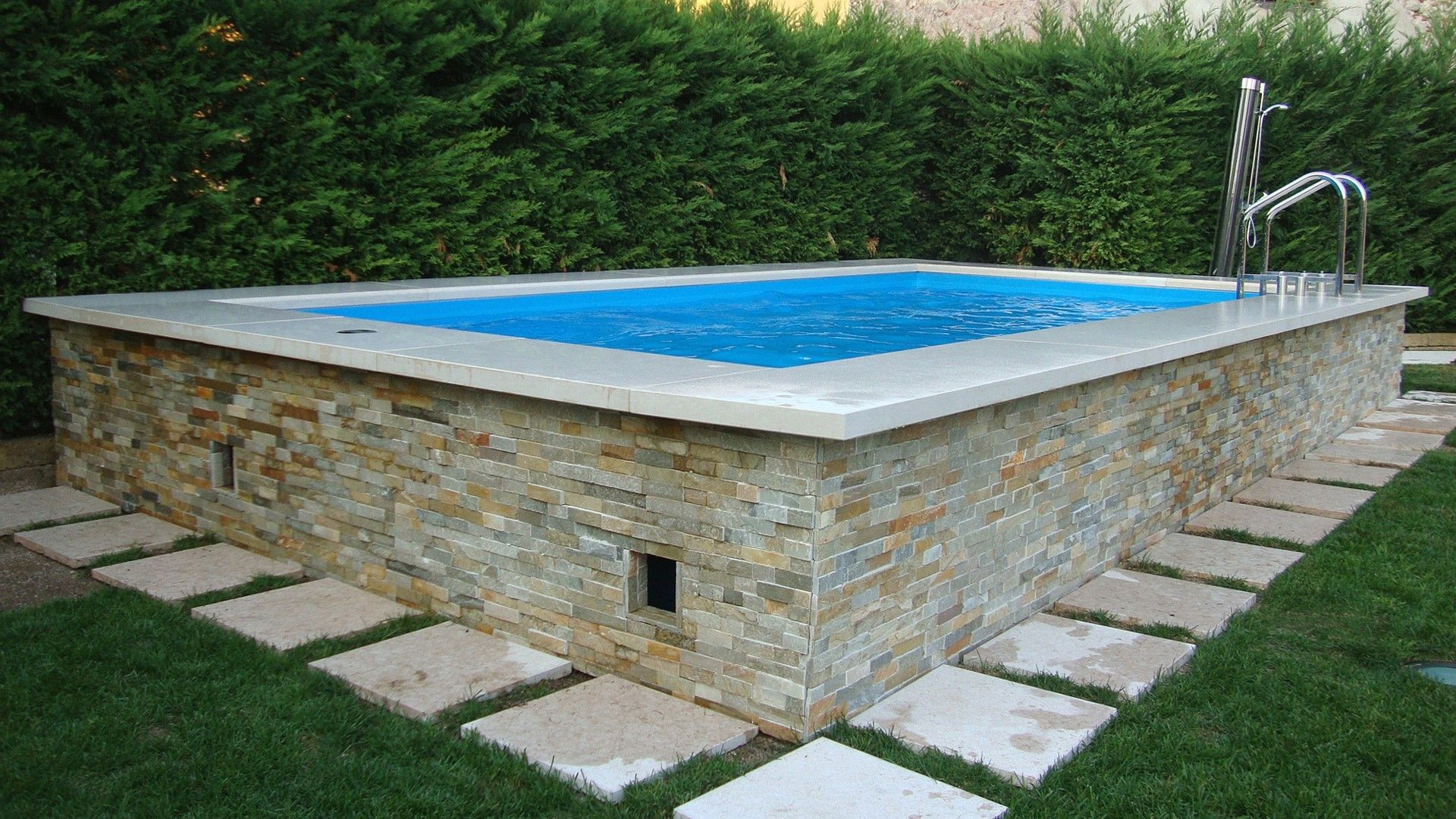 Awesome Piscine Semi Enterree Castorama Piscine Hors Sol Piscine Hors Sol Beton Amenagement Piscine Hors Sol