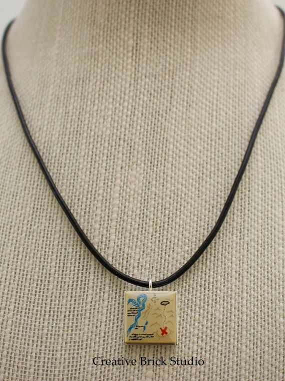 Lego Hobbit Necklace Unisex Leather by CreativeBrickStudio on Etsy
